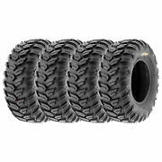 Sunf 27x11r12 Tubeless 27 Atv Tires 6 Ply A043 [set Of 4]