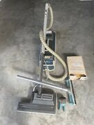 Vintage Electrolux 1205 Canister Vacuum Cleaner Power Nozzle Brush Tested
