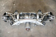 2011-2012 Acura Rl Rear Awd A/t Differential Brakes Axles Subframe Oem