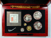 Empress Edition Le Silver And Gold Coins Honoring Chinaand039s Unique Cultural Heritage