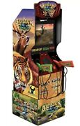 Big Buck World Arcade Shooting Game Machine Arcade1up With Riser Ships Now