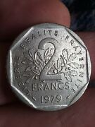 Coin France 1979 2 Francs Free Uk Post French Coin Kayihan Coins