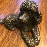 Bat-ami 925 Sterling Silver Poodle Figurine - Made In Israel