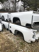 Four 4 New Takeoff Beds. 2019-2021 Silverado 8ft. Bare Beds 2500 Series