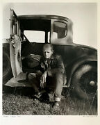 Hans Namuth Jackson Pollock / Hand Signed And Numbered Gelatin Silver Print