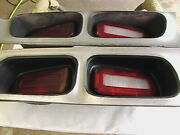 Pre Owned 1972-74 Dodge Challenger Tail Lamp Lt. And Rt. Oem Assemblies