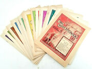 The Watchtower Magazine Newsletter Lot From 1946 - 23 Issues Nice