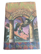 J.k. Rowling - Harry Potter And The Sorcererand039s Stone - 1st Edition Hardcover