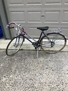 Womanandrsquos Geared Road Bikehas A Tune Up With Document Vintage 70andrsquos Step Through