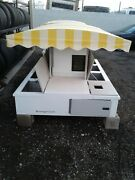 Concession Stands Designed For Golf Cart Trailers Can Be Mobile Or Stationary
