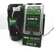 Msa Altair 5 Galaxy Automated Test System Gas Detector Tester Pn10062235/1001236