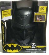 New- Batman Mask Dark Knight Voice Changing Dc Comic Cosplay Costume Party Gift