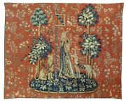 984 - Jacquard Tapestry Touch Is From The Lady With The Unicorn Series