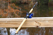 8 Ft 5 In  Bass Carbon Telescoping Fishing Rod And Reel Combo By Ftusa®