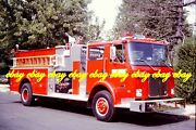Fire Apparatus Slide Valley Forge Fc Schuykill Twp Pa 1980 White Pierce Pa206