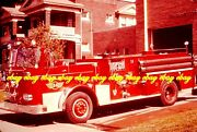 Fire Apparatus Slide Pittsburgh Pa Engine 24 1966 Seagrave Pumper Pa70