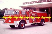 Fire Apparatus Slide Broomall Fc Maple Twp Pa 1975 Fwd-seagrave Pa185a
