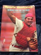 Sports Illustrated 1972 Mar 13 Redemption For The Reds - Johnny Bench Bears Down