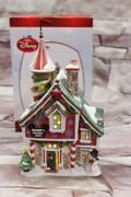 Rare 2010 Dept 56 Mickeys Christmas Castle Merry Village House Mouse Lighted