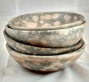 Paulita Pacheco Pottery Stacking Bowl Set 4 Pieces Native American Pottery