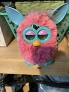 2012 Electronic Furby Doll Cotton Candy Made By Hasbro