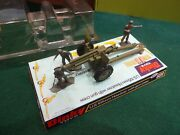 Dinky Toys 609 Us Howitzer With Crew Mint In Box