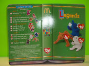 The Complete Dinosaur Trio From Mcdonalds Corporation With Original Ty Tags- New