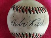Babe Ruth Replica Autographed Baseball