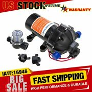 High Pressure Marine Water Diaphragm Pump 12v Dc 60psi 5.5gpm For Rv Boat Yacht