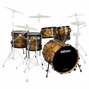 Ddrum Dios 5 Piece Drum Shell Pack - 10/12/14/16/22 - Exotic - Ds Mpz 522 Gn
