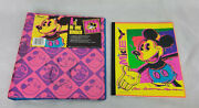 Disney Vintage Mickey Mouse Electric Mouse 3-ring Binder Notebook Mead 90s Set A
