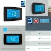 Emerson Sensi Touch Wi-fi Smart Thermostat With Touchscreen Color Display, C-wir