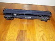 Lionel O-scale Blue Nandw Trailer And Train Auto Freight Car R.t.t.x. 9125