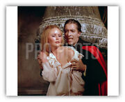 Iconic Scene Chris Lee Veronica Carlson Dracula Has Risen From Grave Hammer 1968