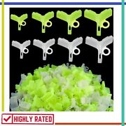 Fishing Hook Bonnets Treble Hook Cover Safety Cap Protector 4 Size 240 Pcs Gejoy