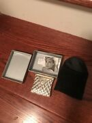 Rare Lady Diana Althorp Siverplated Compact Mirror Souvenir New
