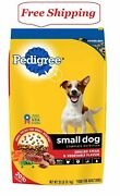 Pedigree Small Dog Targeted Nutrition Steak And Vegetable Dry Dog Food 20 Lbs.