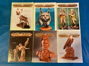 Chip Chats 1998 Collection Vol 45 No. 1 - 6 Wood Carving Magazine Wood Working