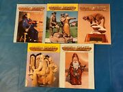 Chip Chats 1993 Collection Vol 40 No. 2,3,4,5 And 6 Wood Carving Magazine