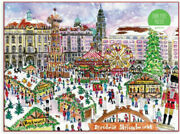 Christmas Holiday Market By Michael Storrings 1000 Piece Puzzle Galison New