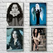 Cher Poster A4 Set Hq Print D2k Song For The Lonely Home Wall Decor