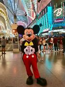 Mickey Mouse Mascot Costume Party Character Birthday Halloween Disney