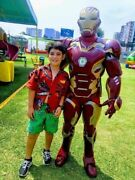Iron Man Avengers Character Mascot Costumes Party Cosplay Real Photo The Best
