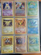 Pokemon Card Collection 1999 Base Set Jungle 1st Editions Holograms