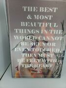 The Best And Most Beautiful Things Helen Keller Quote Wall Kohler