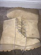 Belleville Mens Icwr Gore-tex Military Issue Combat Boots Size 12 R Work Tan 7