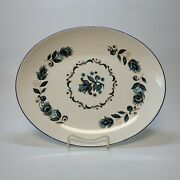 Taylor Smith And Taylor Dutch Onion Platter Oval Platter 13 X 11