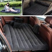 Outdoors Suv Inflatable Mattress Split Body Travel Back Seat Air Bed Cushion