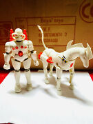 Micronauts Force Commander And Oberon Mego Gig Very Good Conditions