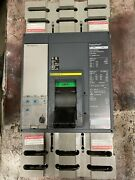 Square D Power Pact Pl800 Circuit Breaker With Cable And Disconnect Switch